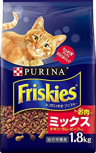 フリスキー ドライ お肉ミックス チキン・ラム・ビーフ入り【...