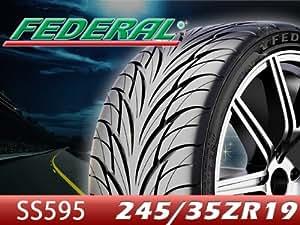 ●2015/7/3から欠品納期未定 FEDERAL/フェデラル タイヤ 2本セット 595シリーズ SS595 245/35R19