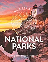 National Parks: An Outdoor Adventure Journal & Passport Stamps Log (Large), Acadia