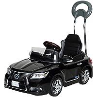 ミズタニ 押手付ペダルカー 新型レクサスLS600hL Sライトブラック NLK-H