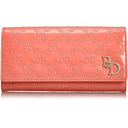 [ピンキーアンドダイアン] Pinky&Dianne エナメルエンボス 薄型長財布 PDLW4UT2 47 (フーシャピンク)