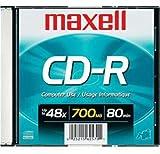 Maxell Cr-R 700 Rec'd Data Cd's-Single-Slim Case [オンデマンド(CD-R)]