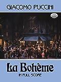 Puccini: LA Boheme in Full Score 画像