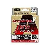 デュエル(DUEL) PEライン アーマード F+ Pro アジ・メバル 150m 0.06号 ライトピンク H4091