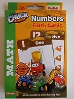 Tonka Chuck & Friends Numbers FlashカードPre k-k 36Mathカード