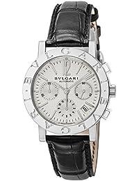 [ブルガリ]BVLGARI 腕時計 ブルガリブルガリ ホワイト文字盤 クロノグラフ BB38WSLDCH メンズ 【並行輸入品】