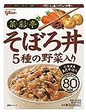 江崎グリコ 菜彩亭そぼろ丼 140g