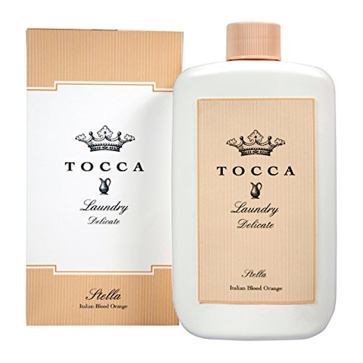そこギャラントリー集中的なトッカ(TOCCA) ランドリーデリケート ステラの香り 235ml (デリケート素材用洗剤 洗濯用合成洗剤 イタリアンブラッドオレンジが奏でるフレッシュでビターな爽やかさ漂う香り)
