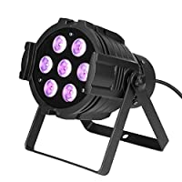 GBGS RGBW LED PAR Light 60W 8 Channel DMX512 Stage Lighting Super Bright [並行輸入品]