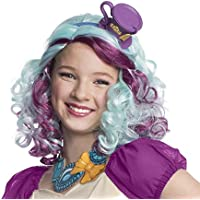Rubies Ever After High Child Madeline Hatter Wig with Headpiece [並行輸入品]