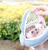 ハムスター 栗鼠 お出かけ 散歩 外出 キャリーバッグ ペット携帯包 ペットカバン 軽量 丈夫 かわいい おしゃれ 小型動物 旅行 搬送 持ち運び