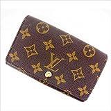 ルイヴィトン Louis Vuitton L字ファスナー財布 二つ折り メンズ可 ポルトモネビエトレゾール M61730 モノグラム 中古 (訳有り美品) Y407