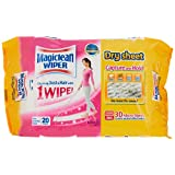 Magiclean Wiper Dry Sheets, 20ct, (Pack of 3)