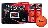 DUNLOP(ダンロップ) ゴルフボール SRIXON Z-STAR XV ゴルフボール 2019年モデル 1ダース(12個入り) プレミアムパッションオレンジ