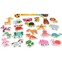 YChoice 知育パズル キッズ クリエイティブ 木製 教育パズル 早期教育 数字の形 カラー 動物玩具 素晴らしいギフト 子供(動物)