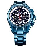 [ケンテックス]Kentex 腕時計 クロノグラフ ソーラー JSDFシリーズ ブルーインパルス 限定 S720M-02 メンズ