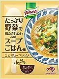 クノール たっぷり野菜で満たされたいときのスープごはん用 まろやかコンソメ 6袋