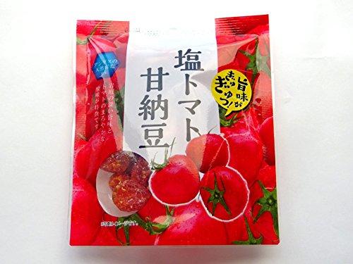 塩トマト甘納豆 170g (とまとを丸ごと使ったあま〜いお菓子です アンデスの天然岩塩使用) ドライフルーツを使ったスイーツ リコピンを含む和菓子