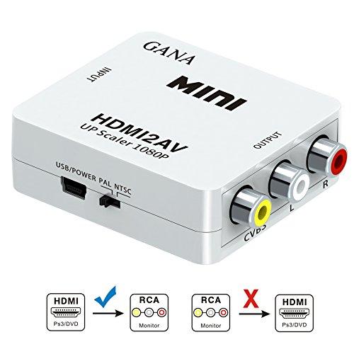 HDMI to AV コンポジット GANA HDMI RC...