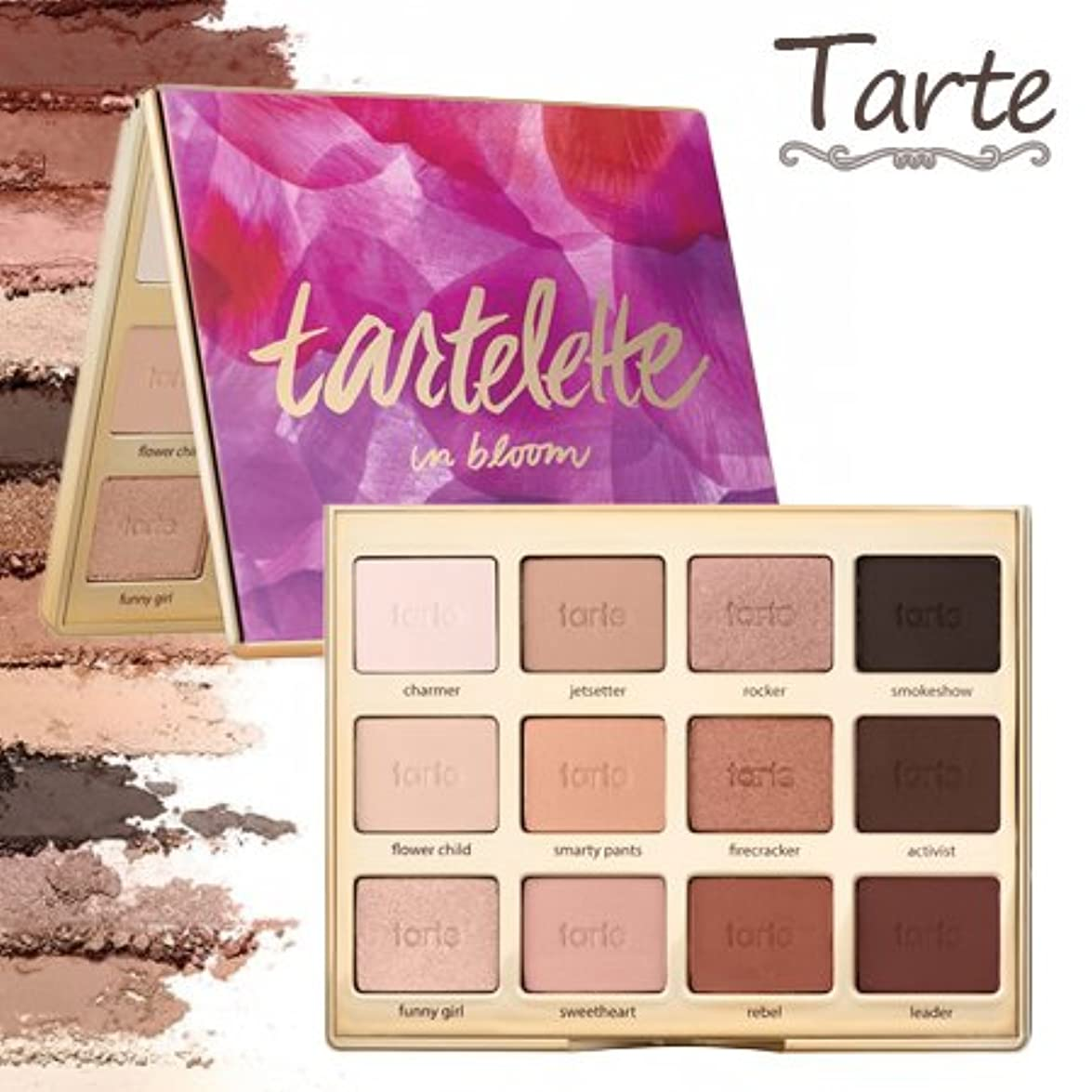 コインランドリー舞い上がる約束するタルトTarte Tartelette in bloom clay eyeshadow palette アイシャドウ パレット 12色 【並行輸入品】