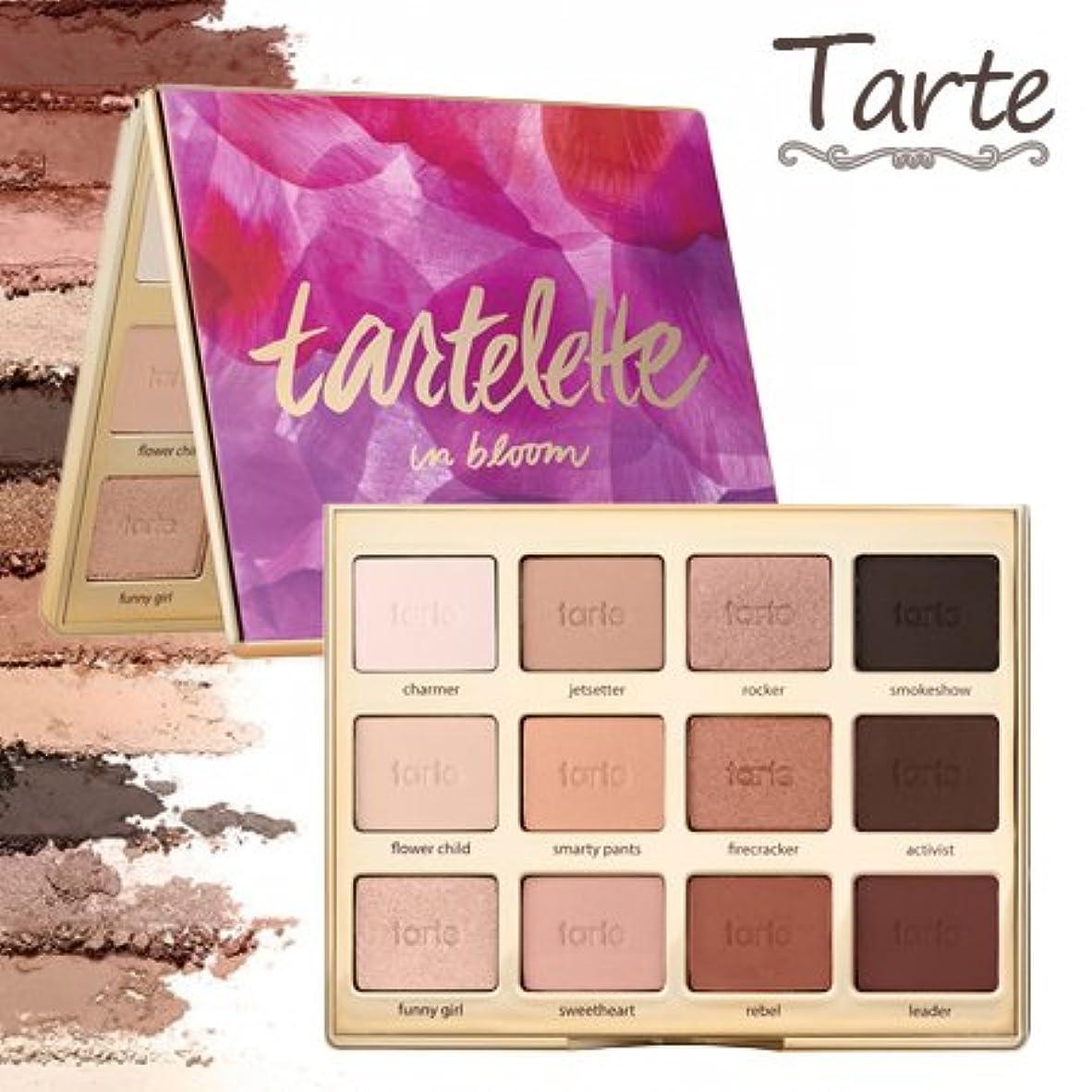 奪う計算可能船外タルトTarte Tartelette in bloom clay eyeshadow palette アイシャドウ パレット 12色 【並行輸入品】