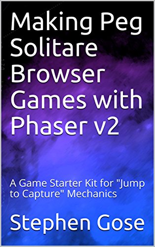 """Making Peg Solitare Browser Games with Phaser v2: A Game Starter Kit for """"Jump to Capture"""" Mechanics (Making Browser Games with Phaser v2 Book 5) (English Edition)"""