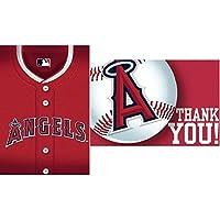 Los Angeles Angels Baseball - Invite & Thank-You Combo ロサンゼルス?エンゼルス野球-招待&のありがとうコンボ♪ハロウィン♪クリスマス♪