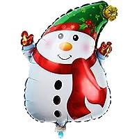 Lovoski 幸せな 雪だるまデザイン ジャンボ アルミ箔製 バルーン 子供誕生日パーティー デコレーション