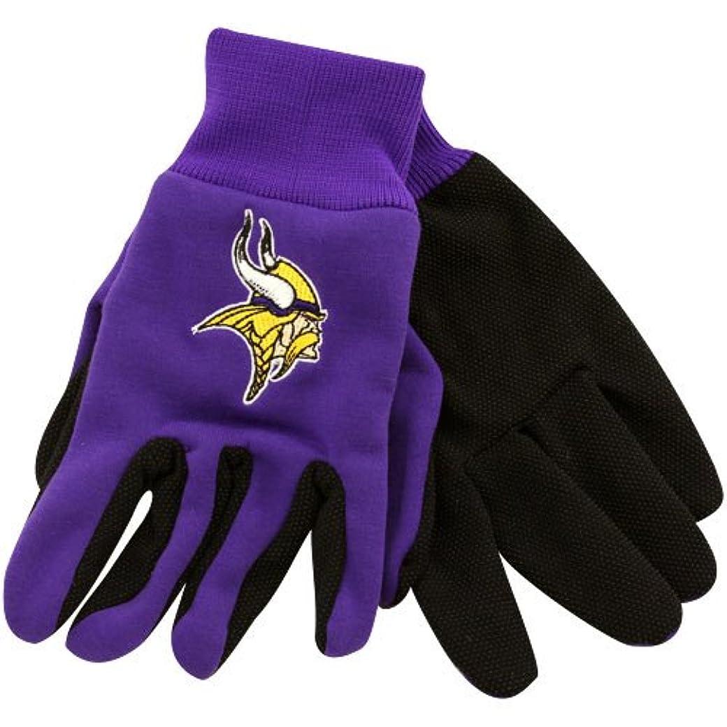 役割名義でそこからMinnesota Vikingsスポーツユーティリティ手袋