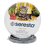 Bayer Seresto 猫のノミ予防のネックレス 7〜8ヶ月持続効果 害虫防止 [並行輸入品]