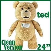 【電池交換可能】TED テッド ぬいぐるみ 24インチ60cm 「クリーントーキング版(通常版)」 等身大 トーキング 映画 グッズ Teddy Bear テディベア おしゃべり しゃべる 熊 くま 実物大