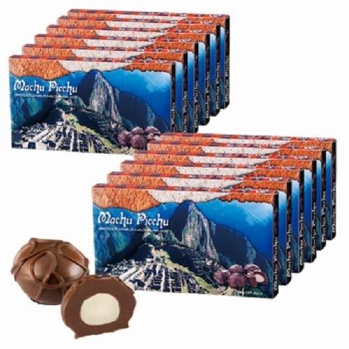 マチュピチュ マカデミアナッツ チョコレート12箱セット【ペルー お土産 輸入食品 スイーツ】192154