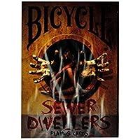 自転車Sewer Dwellers VeryデッキCollectable Playing Cards Pokerマルチ