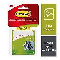 コマンド ポスターハンギングストリップ バリューパック 288 Strips 17024-48ES-6PK 6