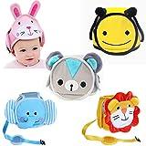 JIOLK ヘルメット ベビー 頭保護 ヘッドガード 赤ちゃん けが防止 可愛い 洗える 軽量 通気 サイズ調整可能 乳幼児 ソフト プロテクター 保護