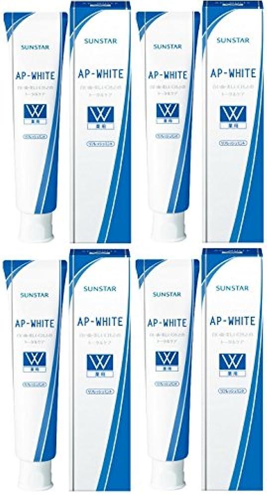 第二にトランジスタナラーバー【まとめ買い】薬用APホワイトペースト リフレッシュミント 110g×4個
