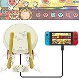 太鼓の達人 switch 専用コントローラー BEBONCOOL Nintendo Switchに対応 太鼓の達人に対応 switch 太鼓の達人に適用コントローラー 画像
