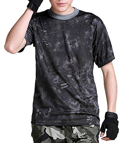 (ガンフリーク) GUN FREAK 迷彩柄 半袖 Tシャツ...