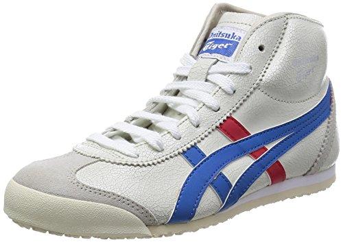 [オニツカタイガー] スニーカー MEXICO Mid Runner THL328 0142ホワイト/ブルー 27.0