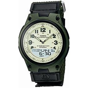 CASIO (カシオ) 腕時計 アナログ/デジタル コンビネーションモデル AW-80V-3BJF