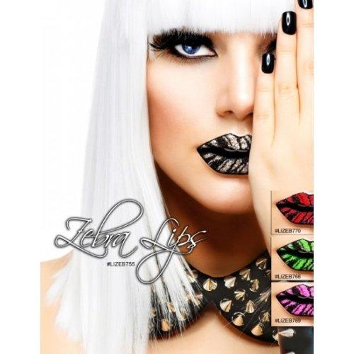 【Xotic Eyes】リップシール Red Zebra Lips
