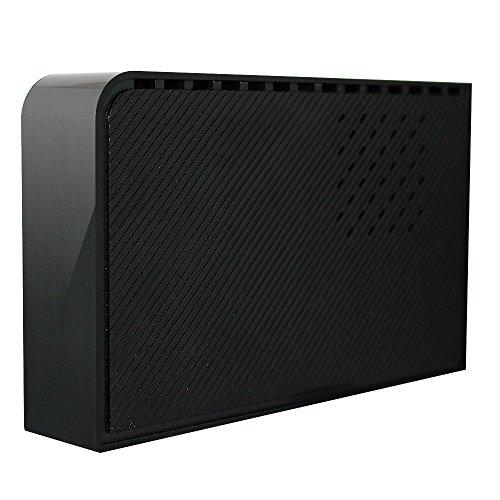 MARSHAL 3.5インチ 外付け HDD 3TB【大容量】 据え置き USB 3.0 搭載 TV録画対応【繋ぐだけ簡単設定】ハードディスク マーシャル SHELTER 3000GB MAL33000EX3-BK