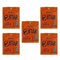 ナイロンクラシック ギター弦 6弦ギター用 スチールコア線 5セット - カラー1