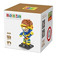LOZUSA Cartoon Character 260 PCS Diamond Block Mini Figure Hero Micro Blocks Construction Model, Micro-sized Building Set Parent-child Games Building Blocks Children's Educational Toys