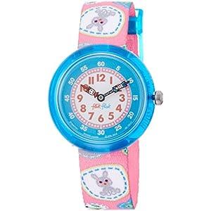 [フリックフラック]Flik Flak [フリック フラック]FLIK FLAK キッズ腕時計キャンピング・バッジ・ピンク FBNP091 ガールズ 【正規輸入品】 FBNP091 ガールズ 【並行輸入品】