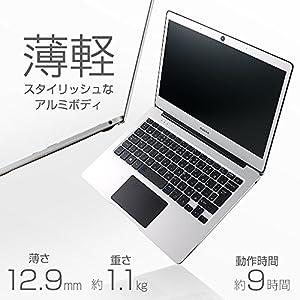 mouse ノートパソコン MB11ESV 11.6インチ フルHD /Celeron N3350 /4GBメモリ/64GB eMMC/Windows10
