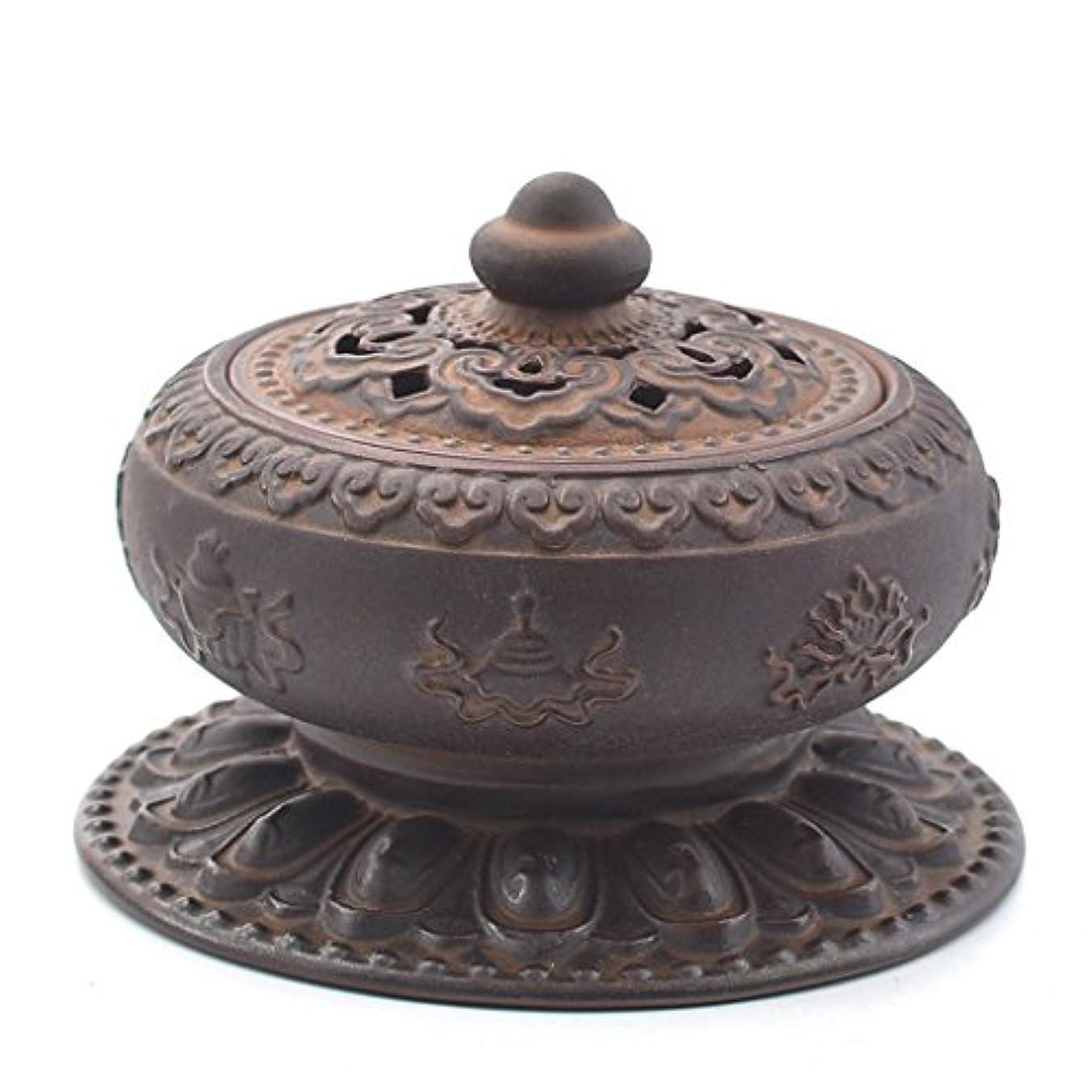 成熟グリットブラインド(ラシューバー) Lasuiveur 香炉 線香立て 香立て 職人さんの手作り 茶道用品 おしゃれ