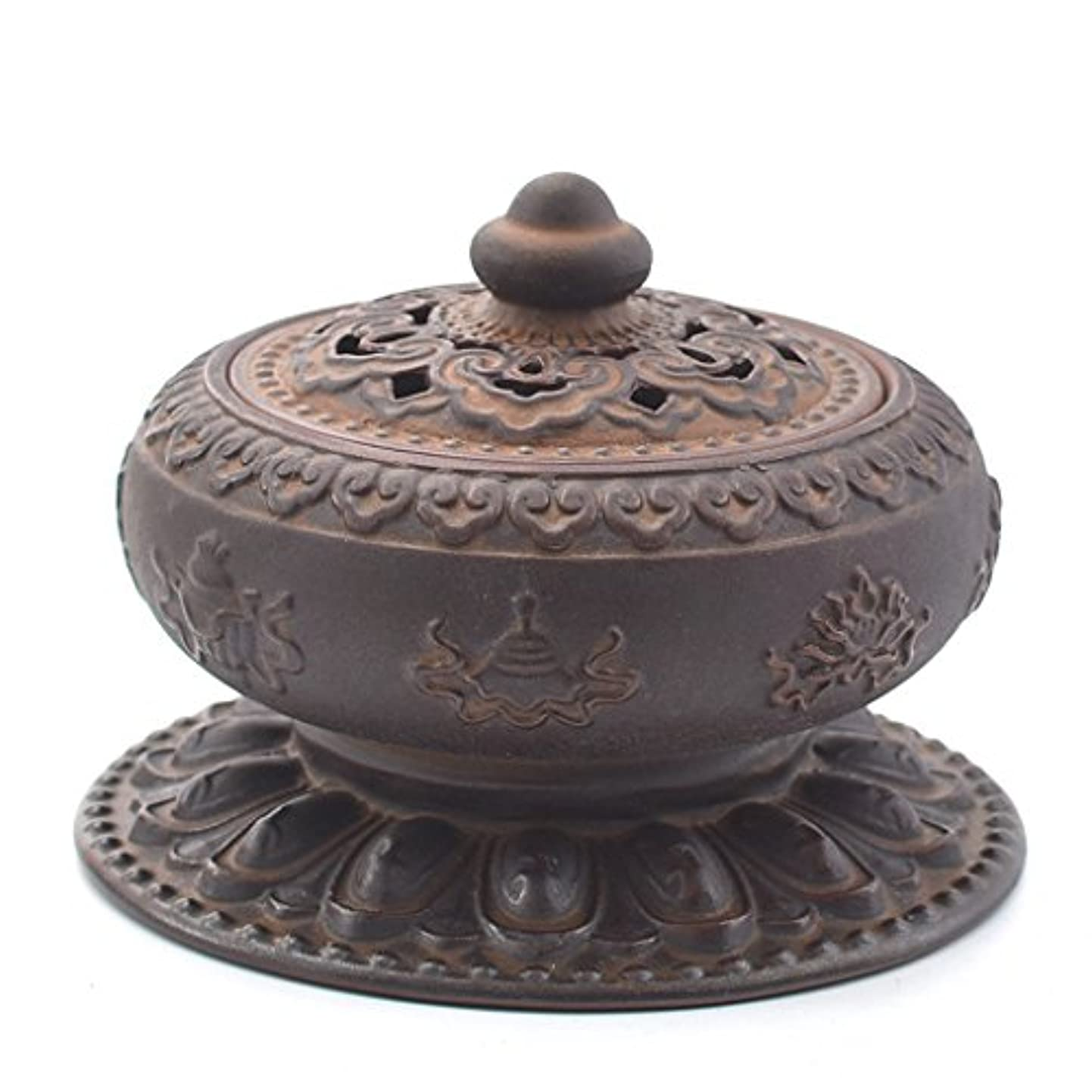 粘着性教えるながら(ラシューバー) Lasuiveur 香炉 線香立て 香立て 職人さんの手作り 茶道用品 おしゃれ