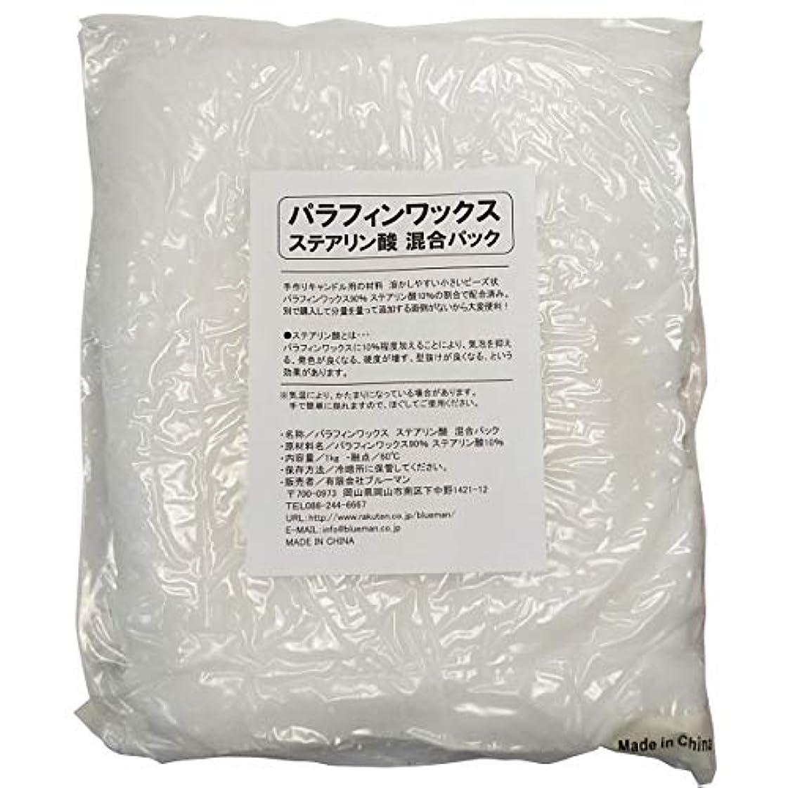 スキル心理的テラスパラフィンワックス ステアリン酸 混合パック 1kg 手作りキャンドル 材料 1キロ アロマワックスサシェ