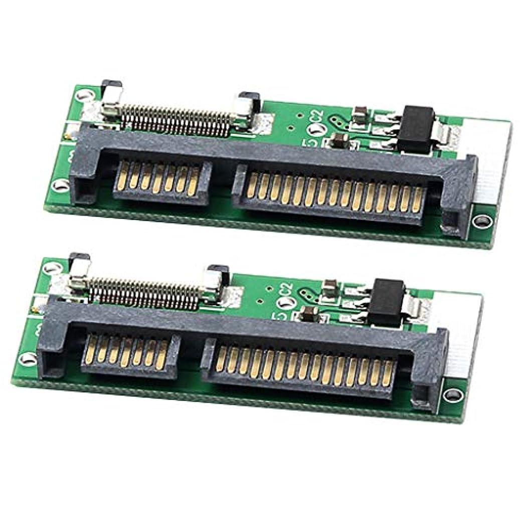 昇進ソファーレコーダーgazechimp ZIF CE to SATAコンバーター 変換アダプタ 2個セット FFCケーブル付き